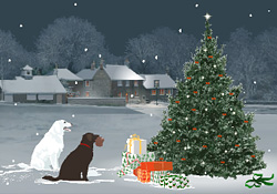 Season's Greetings! The Snowdog E Card By Jacquie Lawson