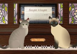 Happy Birthday! Kit Cat Boogie E Card By Jacquie Lawson