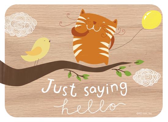 Just Hello Saying Hi Ecard American Greetings