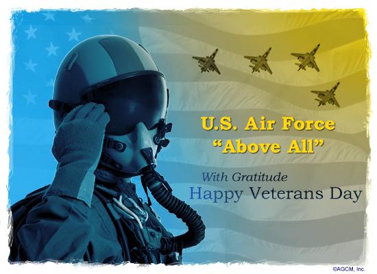 Air Force Veterans Day Veterans Day Ecard American
