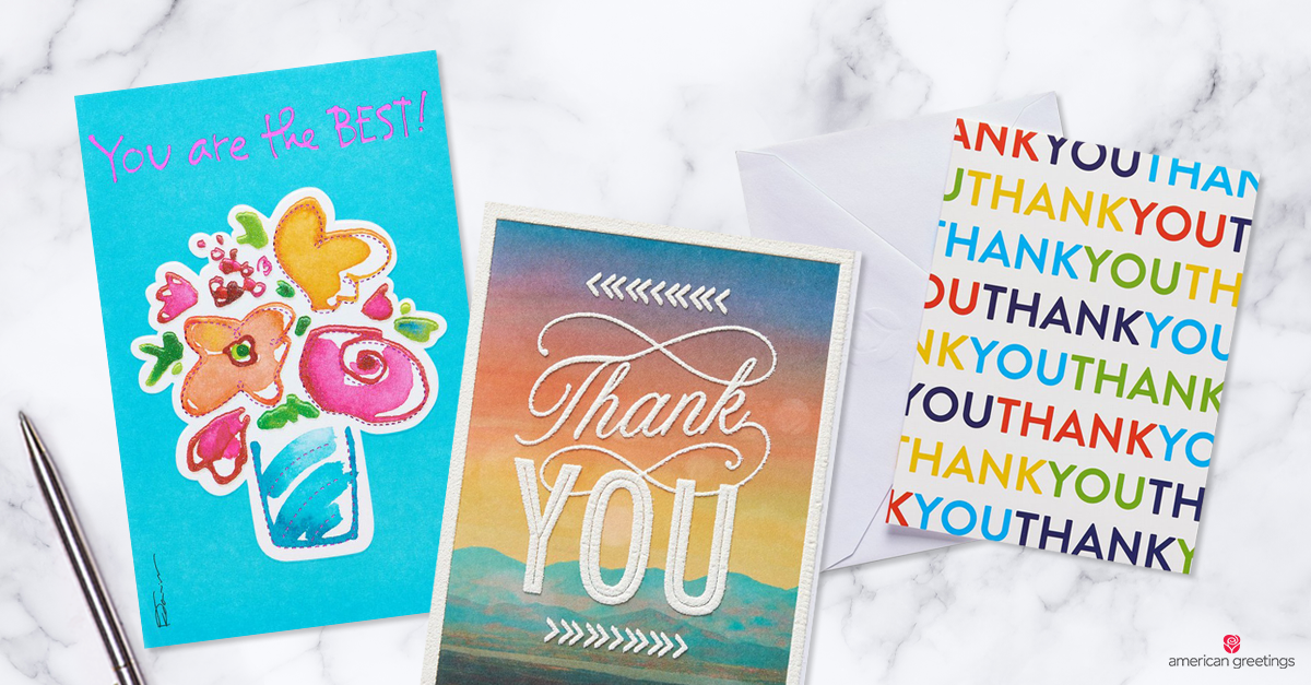 What To Write In A Thank You Card American Greetings