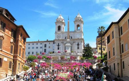 Trinita Dei Monti Rome Ticket Price Timings Address
