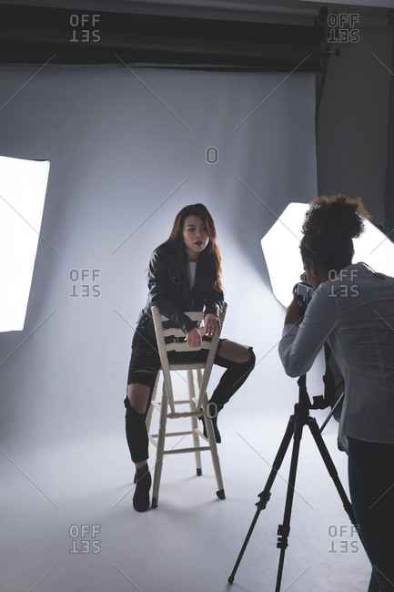 Set Shoot : shoot, Photo, Shoot, Lights, Stock, Photos, OFFSET