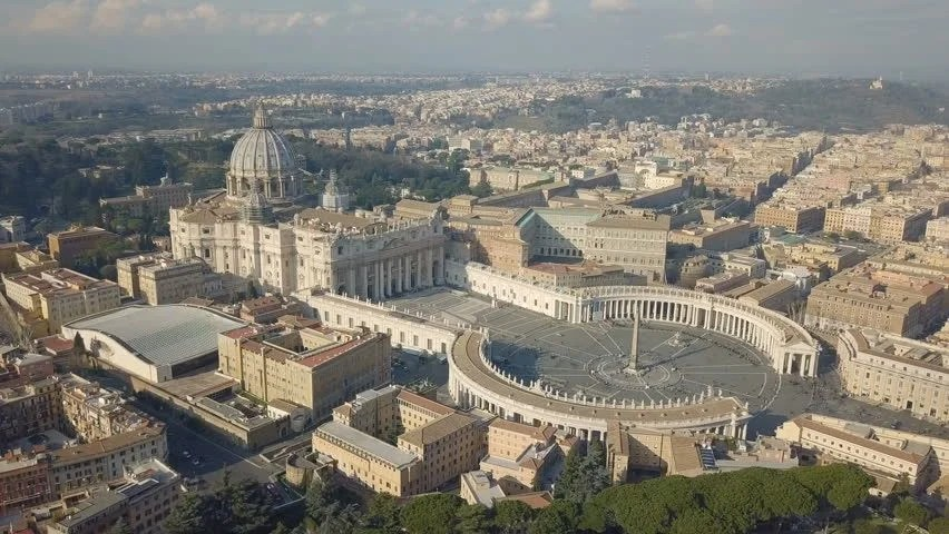 Aerial View of Vatican City Stock Footage Video (100% Royalty-free)  1006600834 | Shutterstock