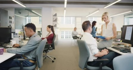 Busy Activity in Diverse Business : Video de stock (totalmente ...