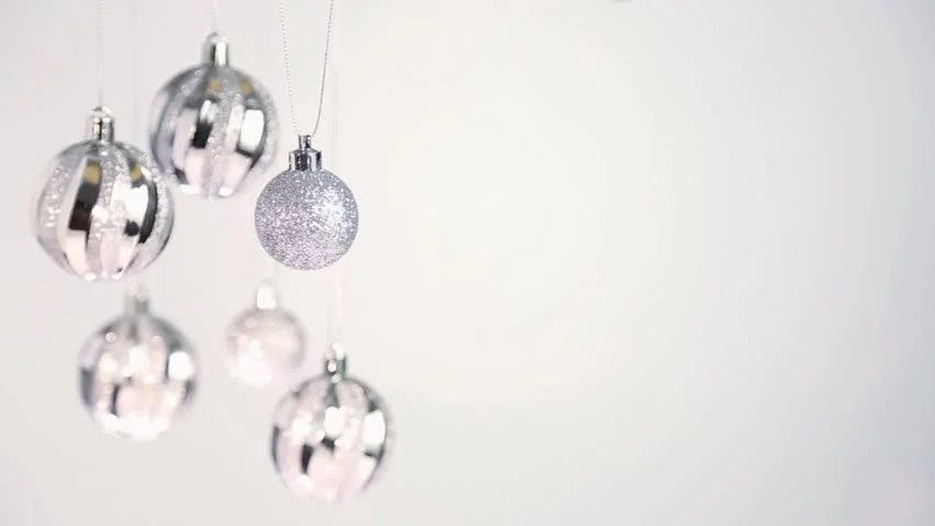 Close Up Of Silver Christmas Stock Footage Video 100 Royalty Free 22049872 Shutterstock