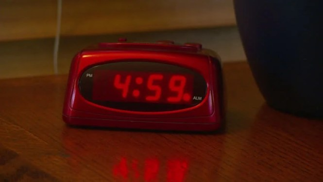 Alarm Clock Going Off At Stock Footage