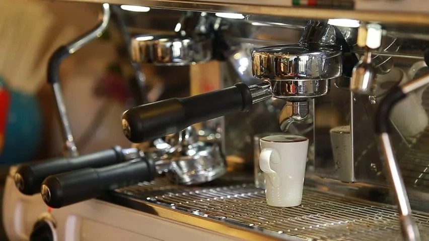 Close up Coffee Preparing in Stock Footage Video (100% Royalty ...
