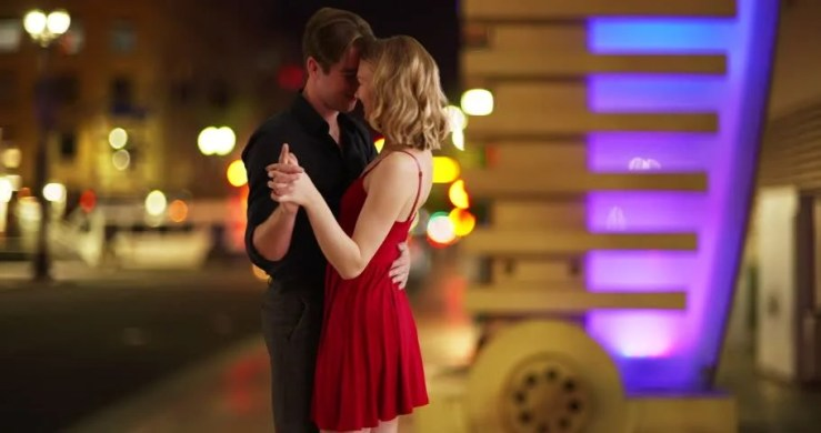 Young Attractive Couple Dancing On Stock Footage Video (100% Royalty-free)  28740709 | Shutterstock