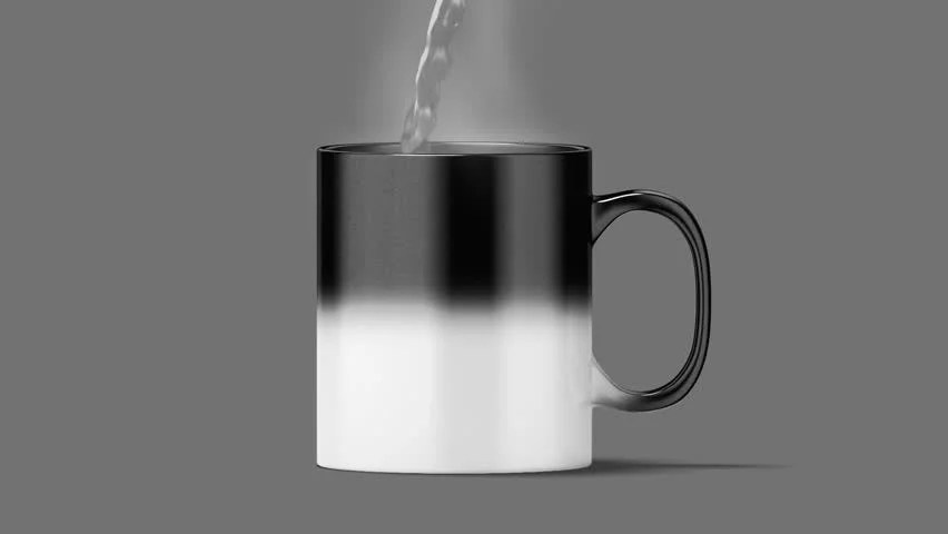 Perfect for kids, this magic wizard mug is sure to make them smile. Blank Magic Mug Mockup Black Stock Footage Video 100 Royalty Free 30895831 Shutterstock