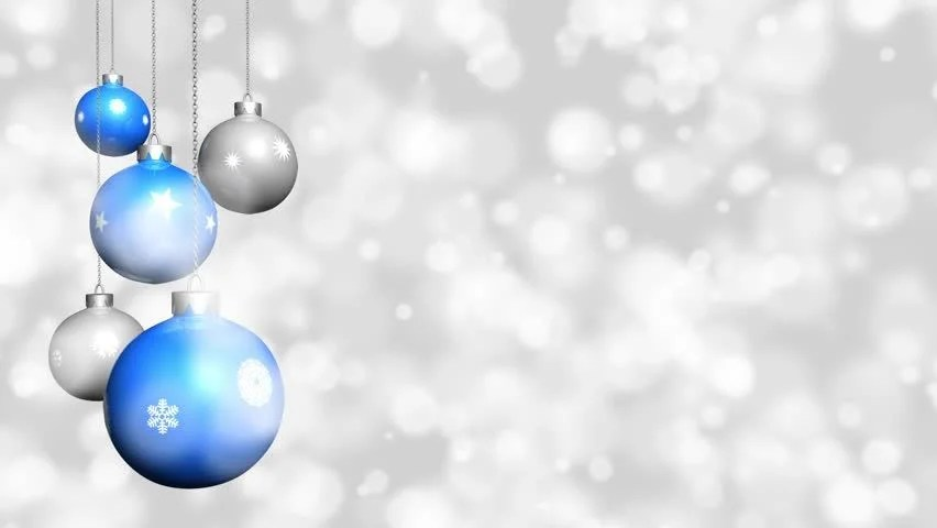 Christmas Ornaments With Snow Background Stock Footage Video 100 Royalty Free 4802171 Shutterstock