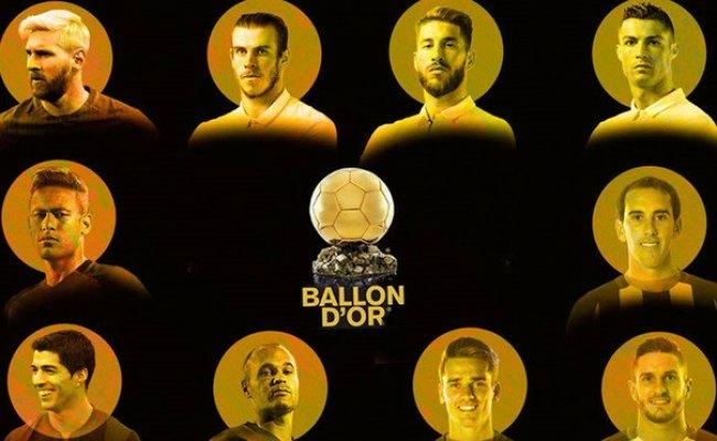 El Real Madrid Manda En La Lista Del Balón De Oro Marca