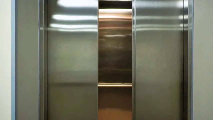 The Elevator Doors Open Opening Stock Footage Video 100 Royaltyfree 1012707470  Shutterstock