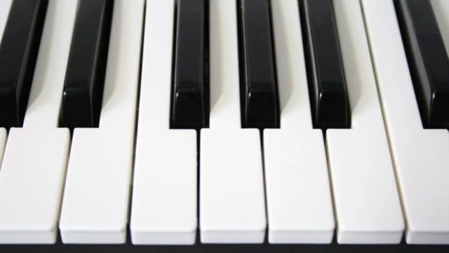 Piano Keys Loopable Motion Hd Stock Footage Video (100% ...