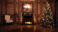 Living Room With Fireplace Stock Video Footage - 4K and HD ...