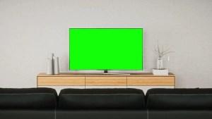 screen led interior living footage shutterstock prague czech republic january bar television