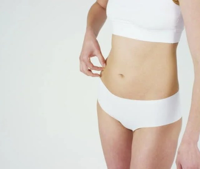 Beautiful Body Of A Young Girl Showing Off That She Is In Perfect On White Background Conceptdietproper Nutritionsports Bodyslender Bodywork On