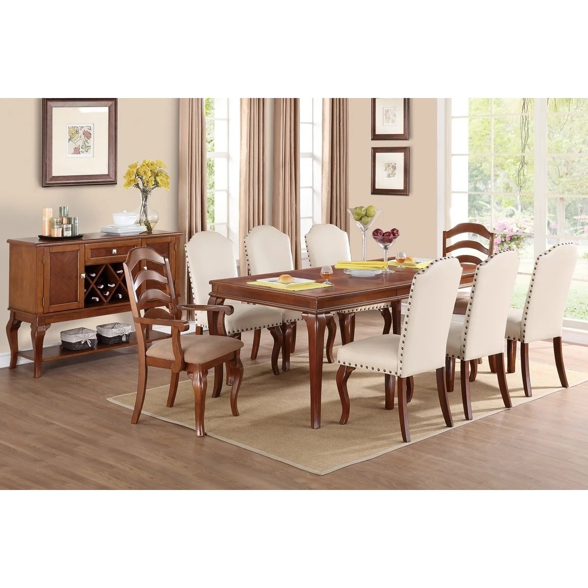 Western Chairs Western Nailhead Dining Chairs Set Of 6