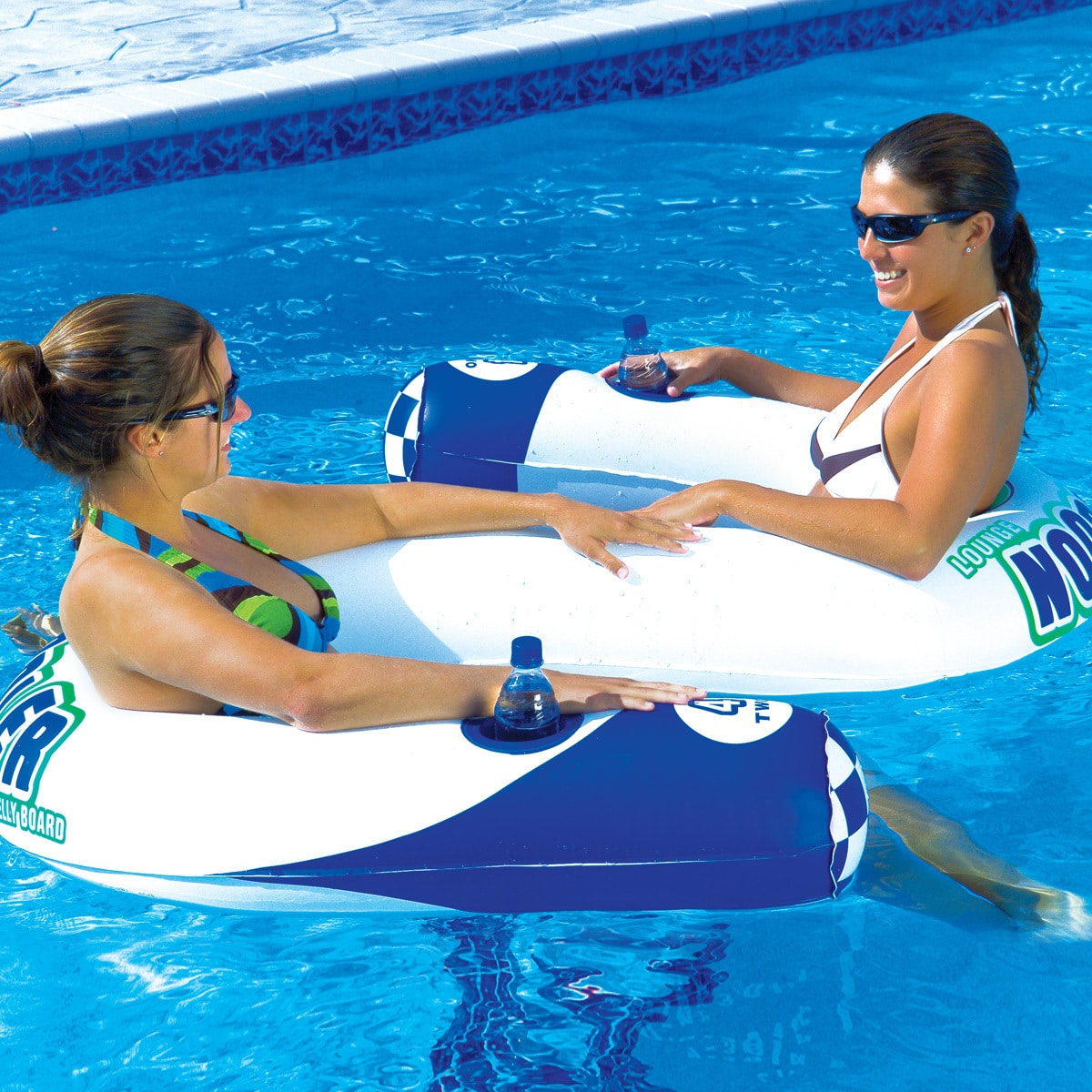 2 Person Lounge Chair Noodler 2 Inflatable Two Person Lounge Chair