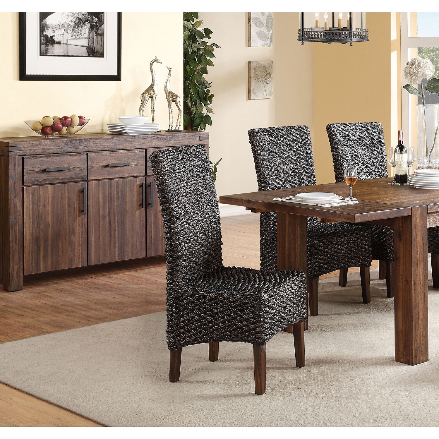 Seagrass Dining Chair Seagrass Dining Chair Set Of 2
