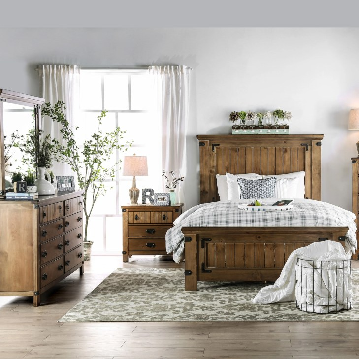 The Gray Barn Pawnee Country Style 4-piece Bedroom Set