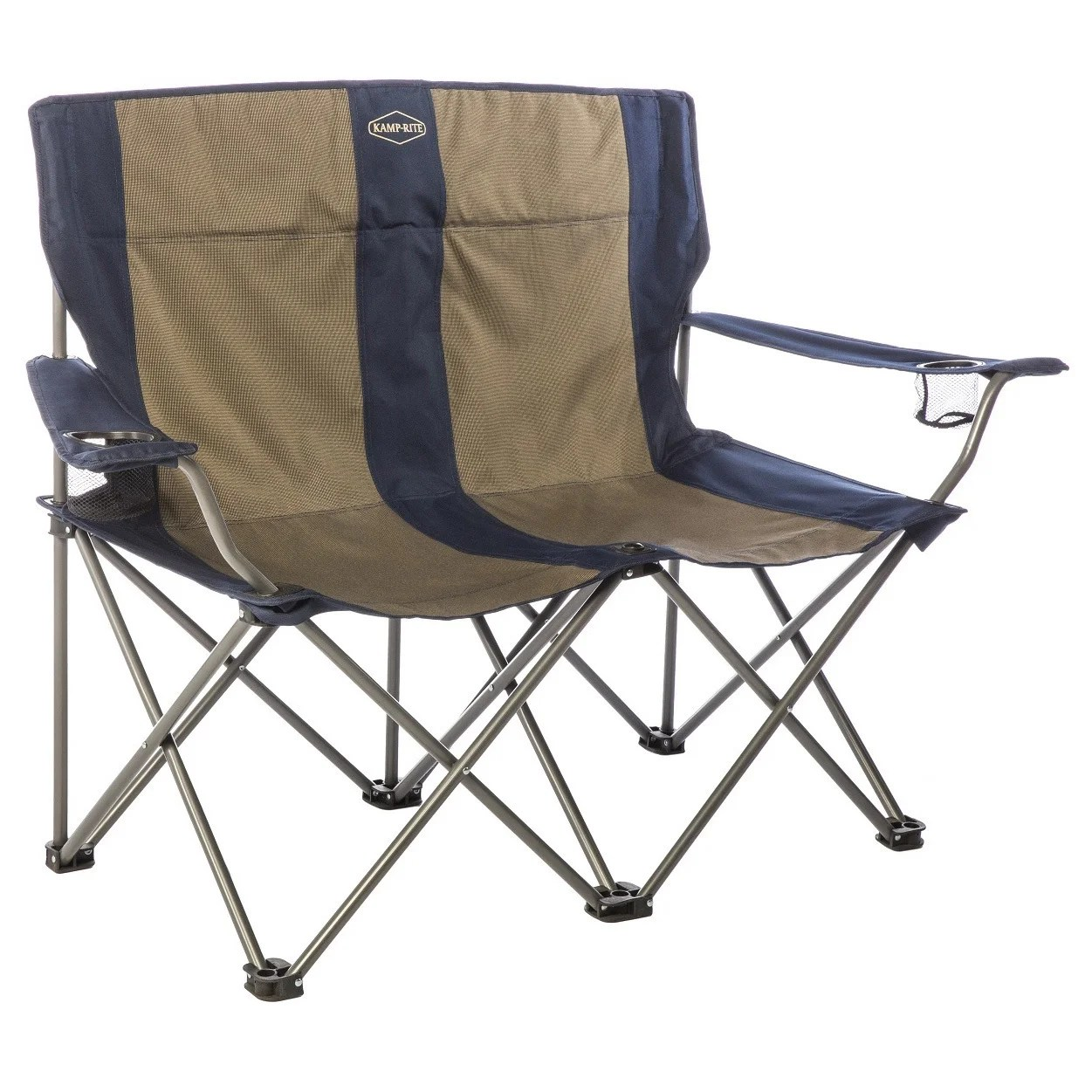 Double Camping Chair Kamp Rite Double Folding Chair With Arm Rests