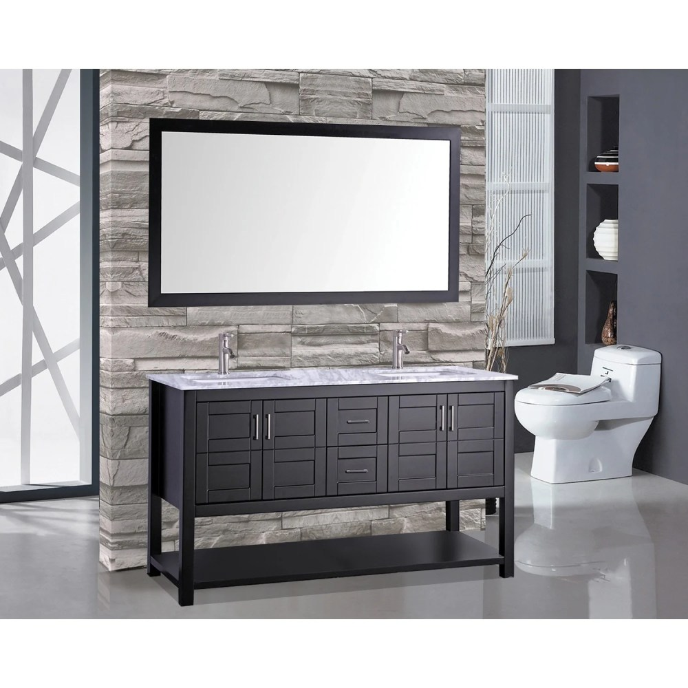 medium resolution of shop mtd vanities norway 60 inch double sink bathroom vanity set with mirror and faucet on sale free shipping today overstock 10378609
