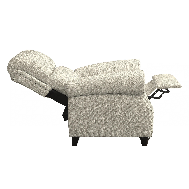 push back chair desk pier one shop copper grove umpqua tan linen recliner on sale free shipping today overstock com 20689686