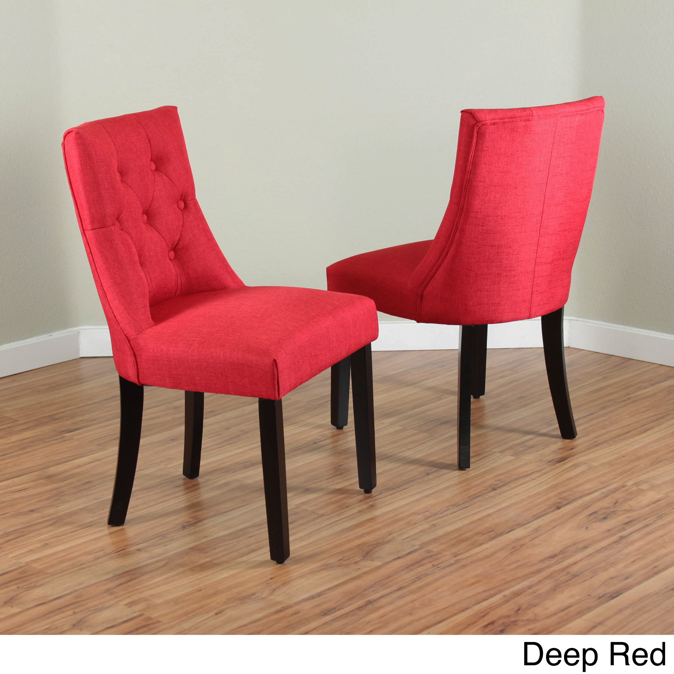 Red Upholstered Dining Chairs Bellcrest Upholstered Dining Chairs Set Of 2
