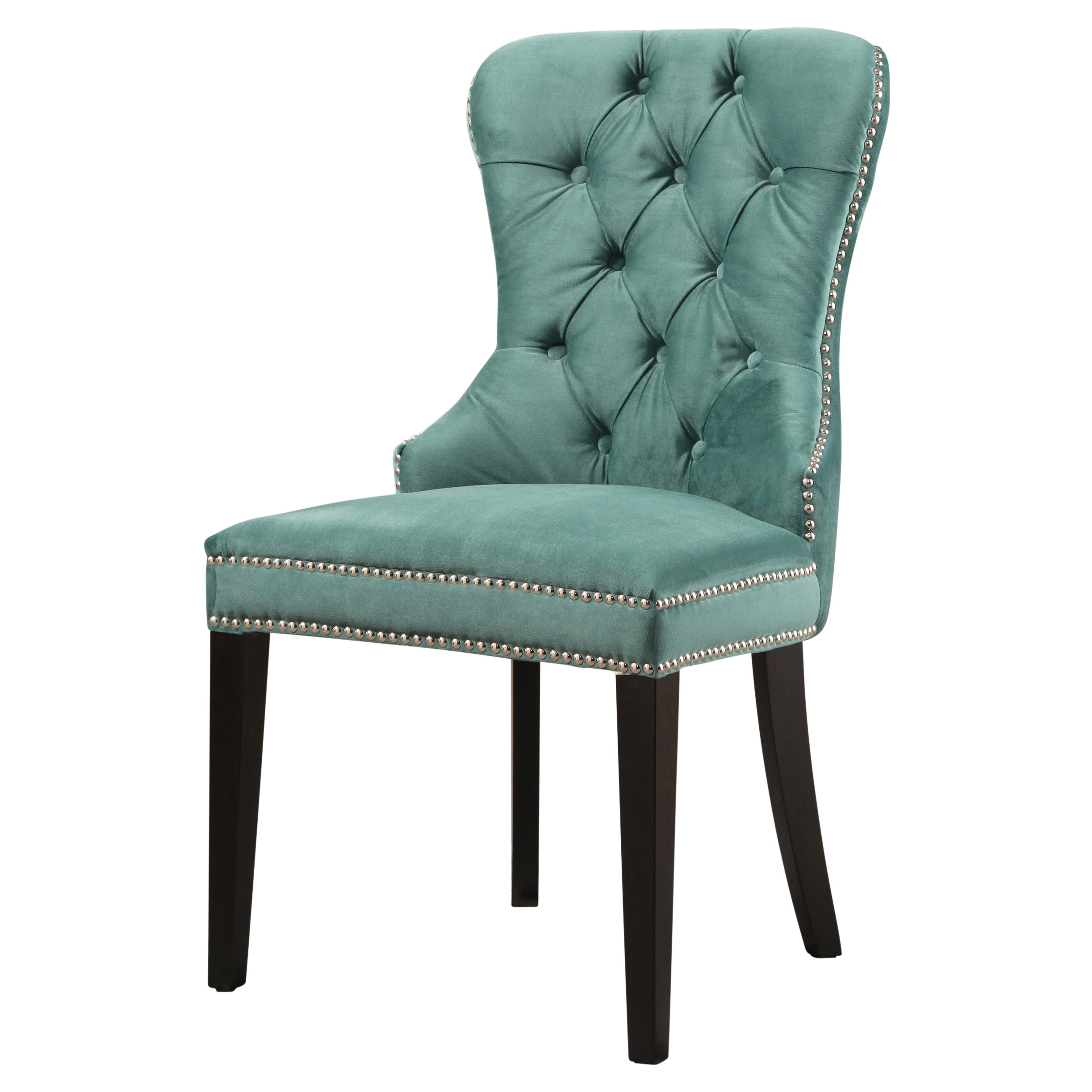Aqua Dining Chairs Abbyson Versailles Tufted Velvet Dining Chair