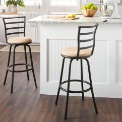 Counter Height Chair Venus Revolving Shop Round Seat Bar Adjustable Metal Stool
