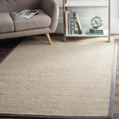 Dark Grey Living Room Rugs Brown Paint Schemes For Shop Safavieh Casual Natural Fiber Marble Sisal Area Rug 2 X 3