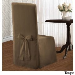 Taupe Chair Covers Ashley Recliner Shop Luxury Collection Metro Dining Cover Free Shipping On Orders Over 45 Overstock Com 11421429