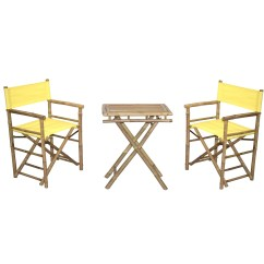 Bamboo Directors Chairs Wooden Childrens Table And Australia Shop Handmade Bistro Director S Small Set Vietnam Free Shipping Today Overstock Com 11520164