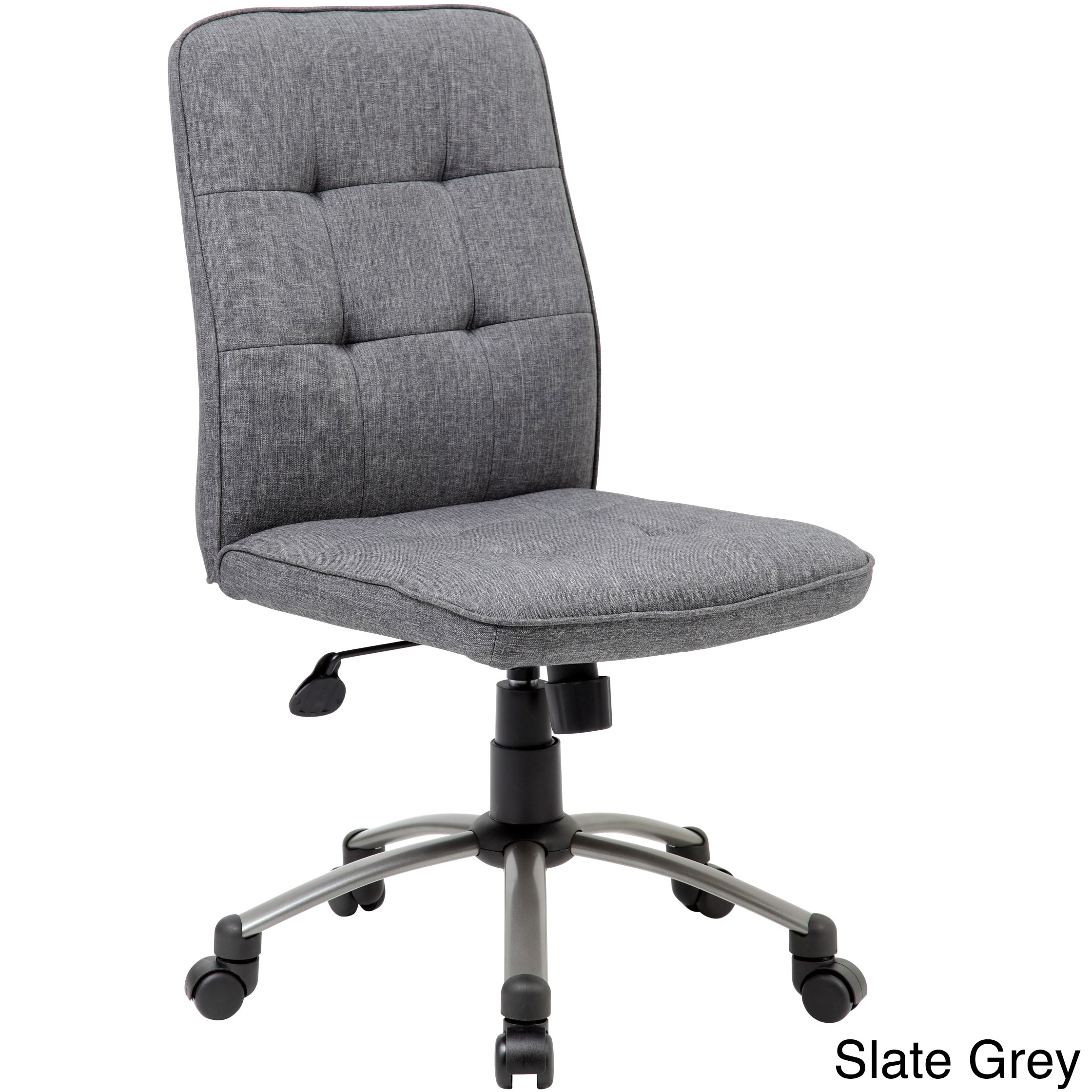 office chair fabric chairs for desks with wheels shop boss modern ergonomic free shipping today overstock com 11693392