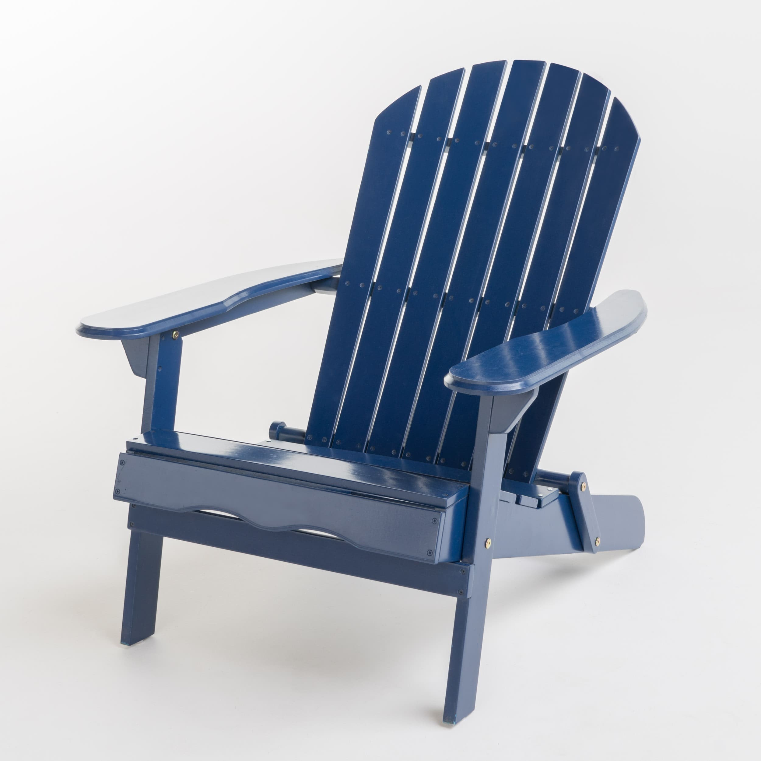 Adirondack Chair Reviews Hanlee Outdoor Folding Wood Adirondack Chair By Christopher Knight Home