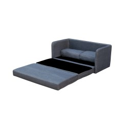 Sofa Pull Out Bed Frame Pallets Sofas Ideas Shop Phillip Dark Grey Loveseat With Pullout On Sale Free Shipping Today Overstock Com 11706637