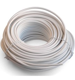 shop black point products inc bt 049 white 100 4 conductor white telephone wire free shipping on orders over 45 overstock com 11765788 [ 1500 x 1500 Pixel ]