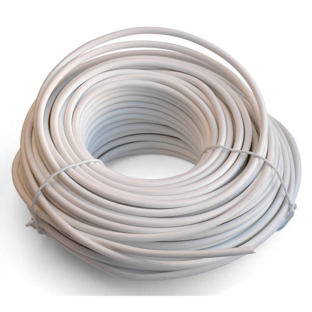 medium resolution of shop black point products inc bt 049 white 100 4 conductor white telephone wire free shipping on orders over 45 overstock com 11765788