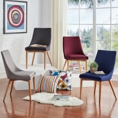 Barrel Back Chair Ergonomic Thesis Shop Sasha Oak Dining Set Of 2 Inspire Q Modern