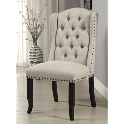 Wingback Dining Chairs Canada Ergonomics Desk Chair Shop Furniture Of America Telara Tufted Set 2