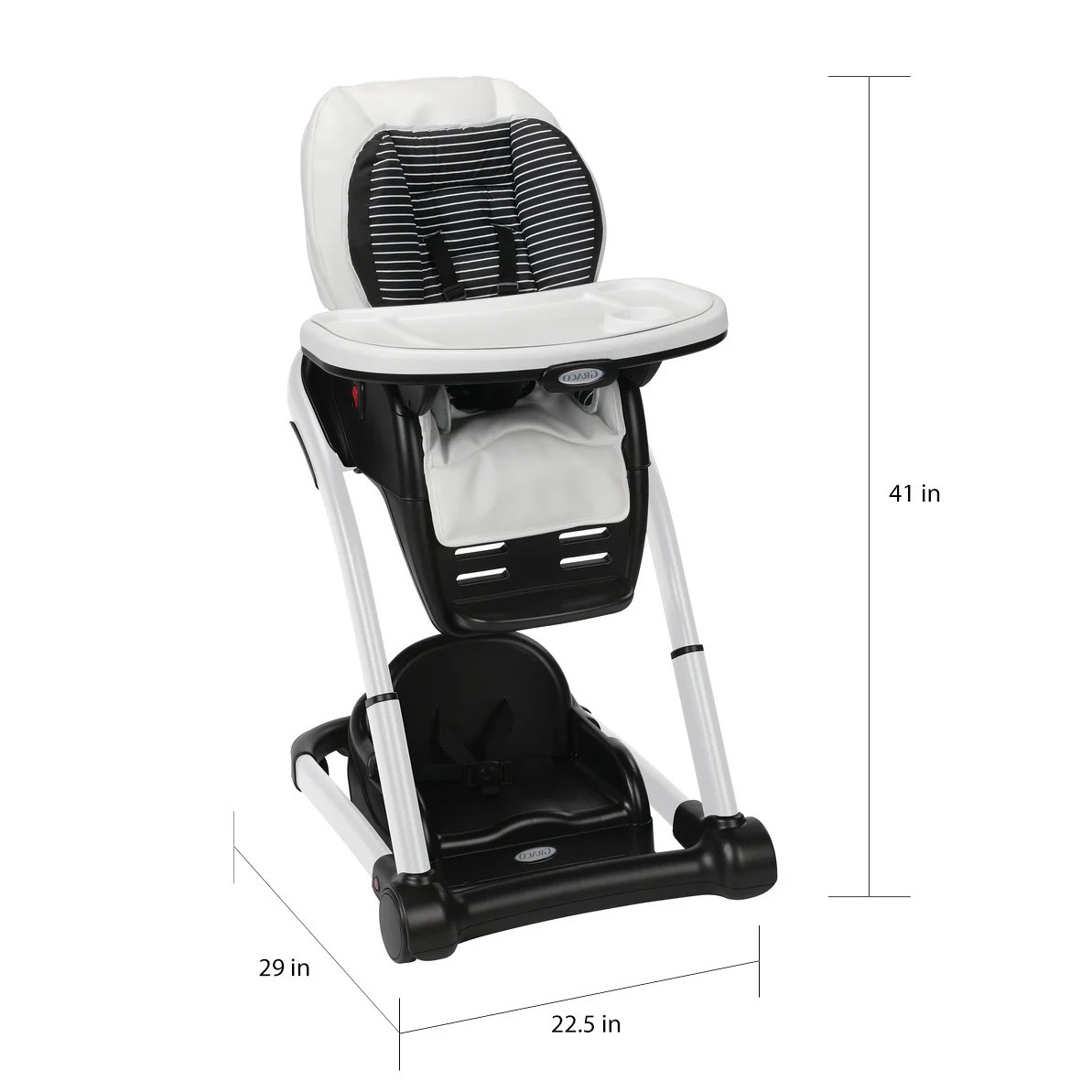 graco high chair blossom staples osgood warranty shop studio 4 in 1 highchair free shipping today overstock com 12821190