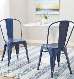 tabouret navy bistro dining chairs set of 2  [ 3000 x 3000 Pixel ]