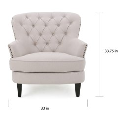 Tafton Club Chair Round Folding Covers Shop Tufted Fabric With Ottoman By Christopher Knight Home Free Shipping Today Overstock Com 13288524
