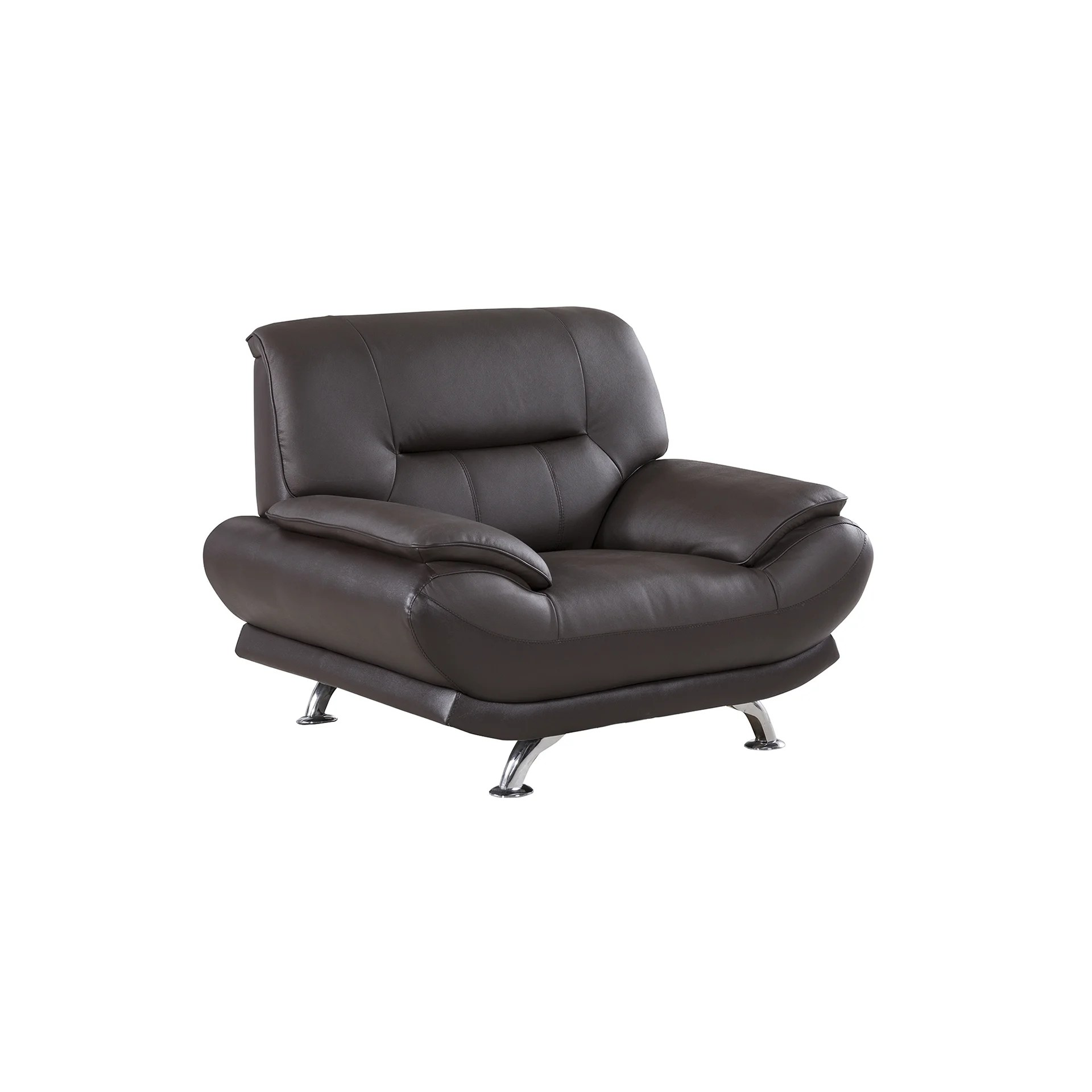 genuine leather chair ikea directors shop dark chocolate free shipping today overstock com 13519417
