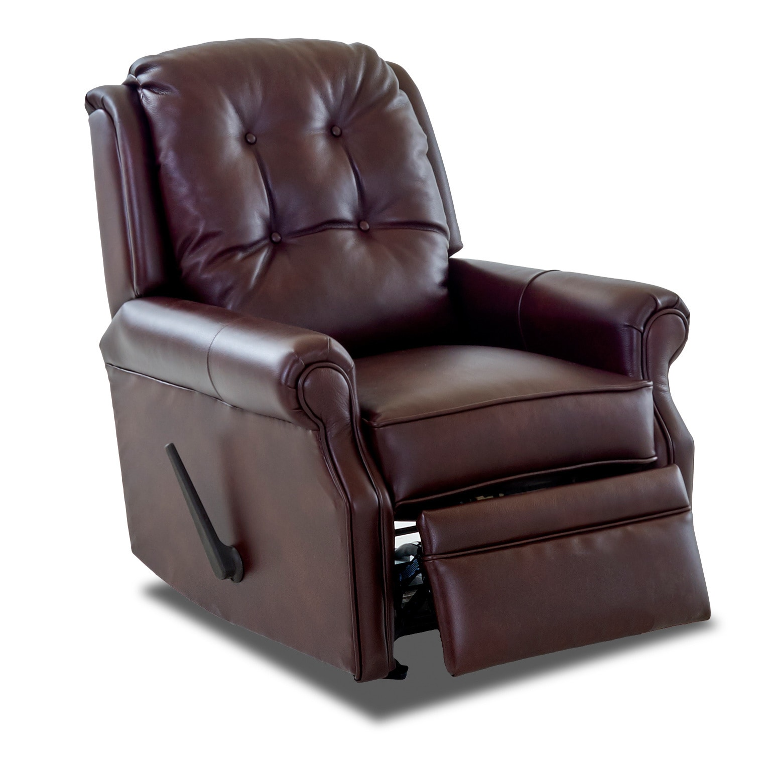 Leather Rocking Chair Made To Order Sand Key Leather Reclining Rocking Chair
