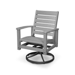 Outdoor Swivel Rocker Chair Wooden Folding Chairs Shop Polywood Signature Rocking Free Shipping