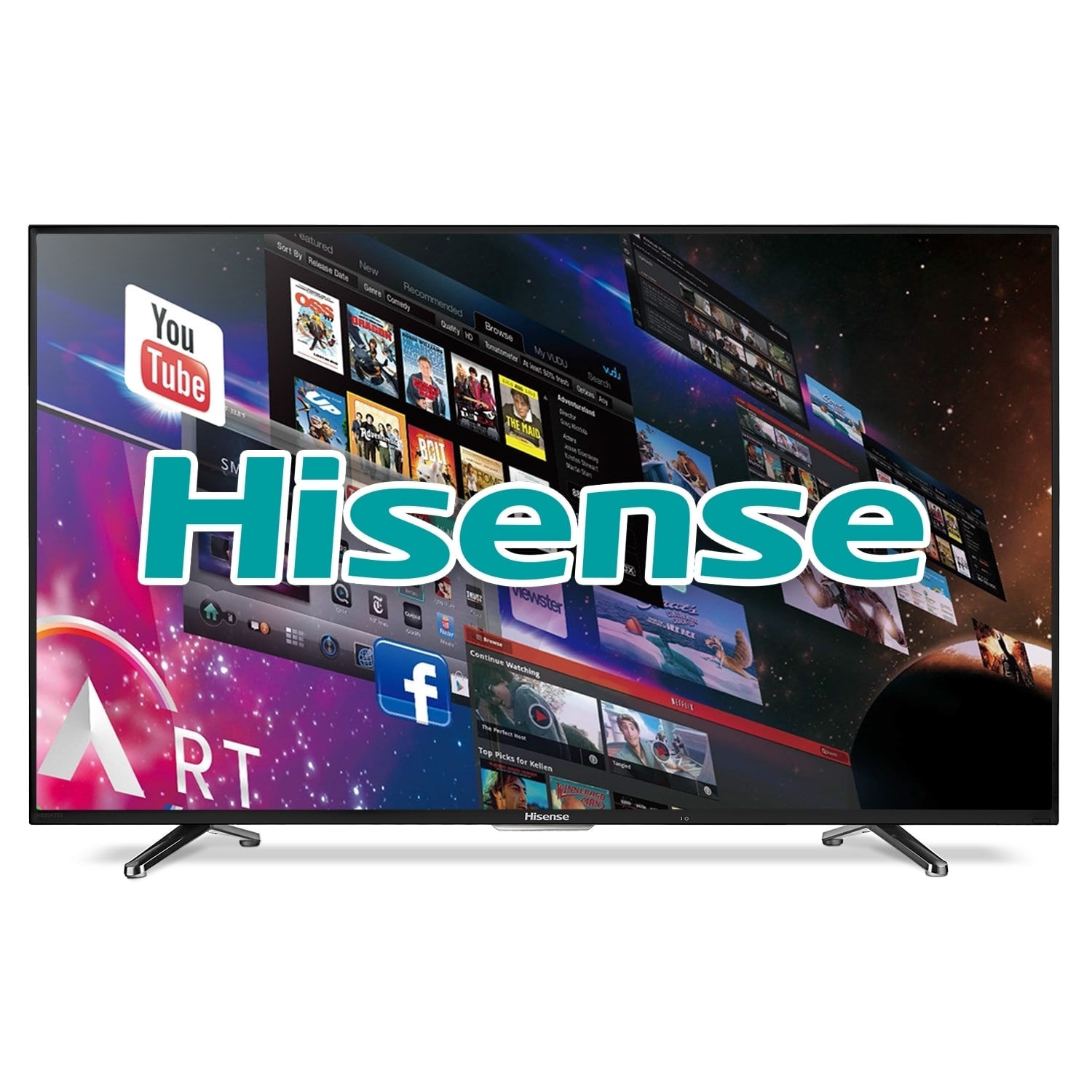 hight resolution of shop hisense 40h5b 40 inch 1080p 60hz smart wi fi led hdtv refurbished as is item free shipping today overstock com 13893427