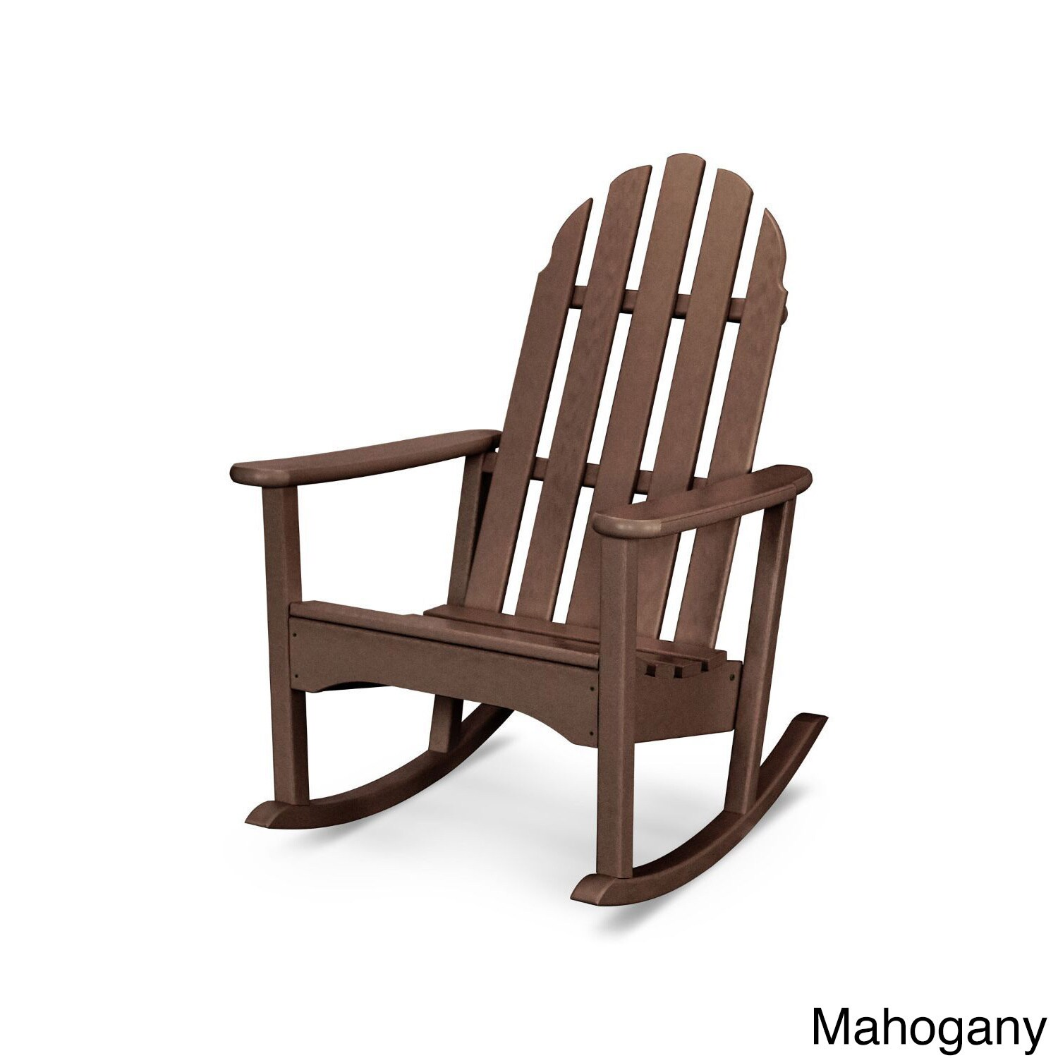 Weatherproof Adirondack Chairs Polywood Classic Adirondack Rocking Chair