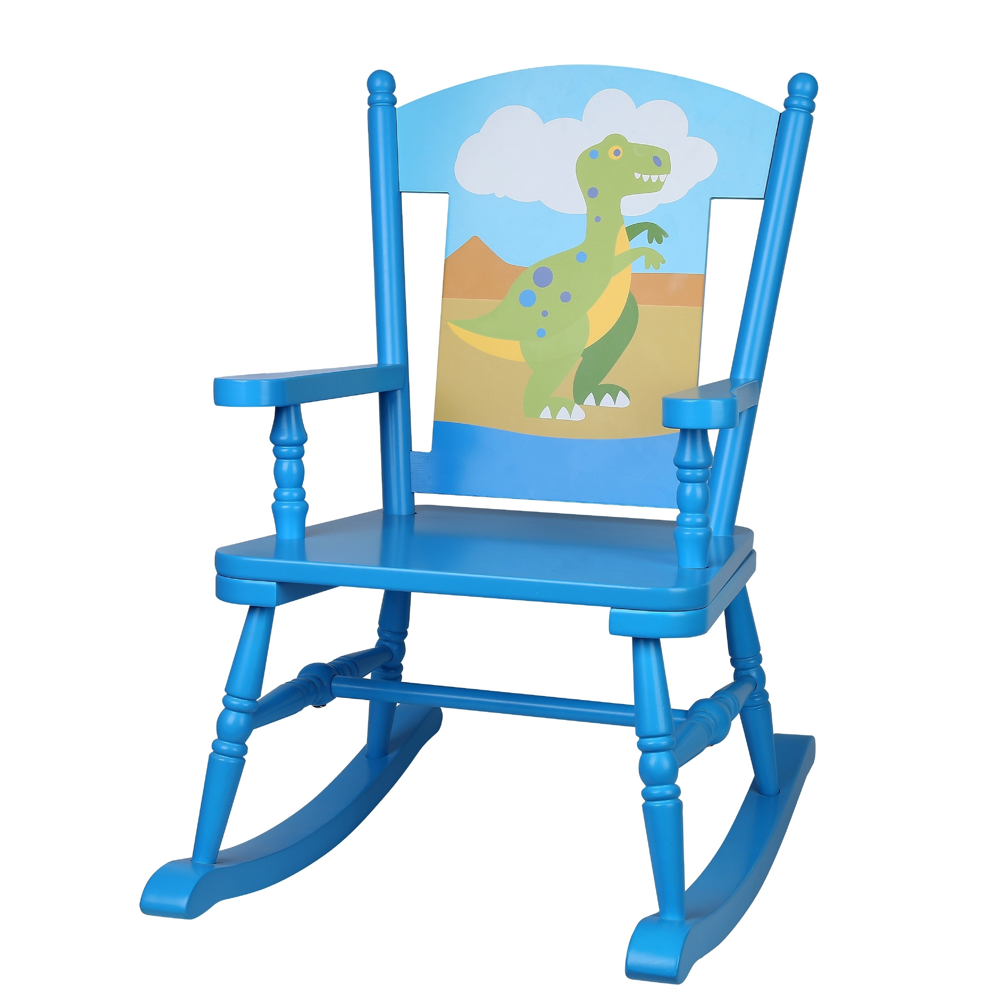 rocking chair kids covers for christmas shop levels of discovery olive dinosaur free shipping today overstock com 13999331